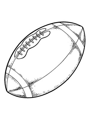 Ausmalbilder Sport Football Spielsachen